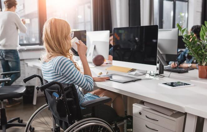 silla de ruedas en alquiler